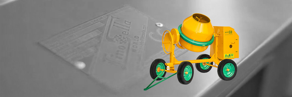 TOWABLE CONCRETE MIXERS