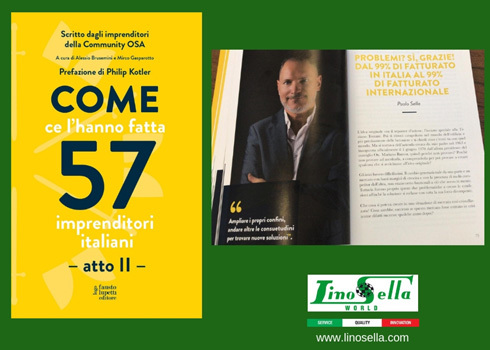 Paolo Sella, narrate of himself in the new book of Italian entrepreneurs